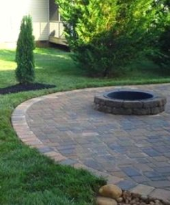 Fire Pit and Outdoor Living Spaces by Thompson Brothers Landscaping