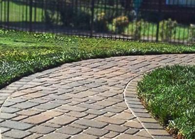 Paver Sidewalk near Cleveland TN