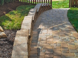 Paver Sidewalk Design and Installation Thompson Brothers Landscaping