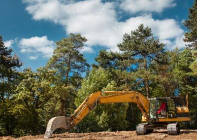 excavation and ground preparation