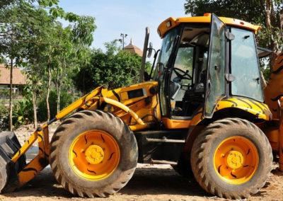 excavation heavy equipment